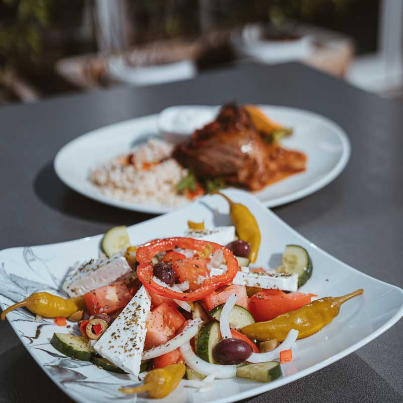 Delicious food and a huge selection - the Greek in Dresden
