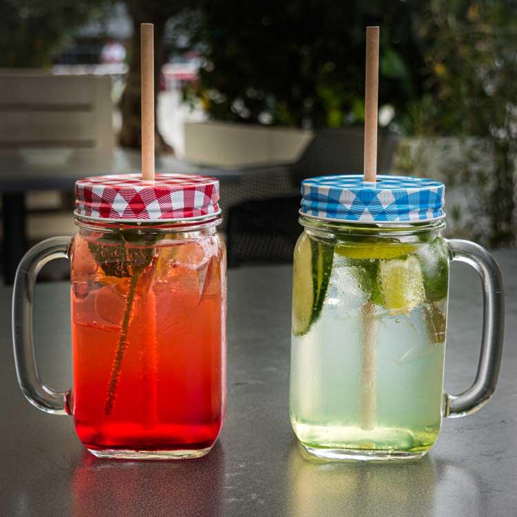 homemade lemonade in our Greek restaurant in Dresden