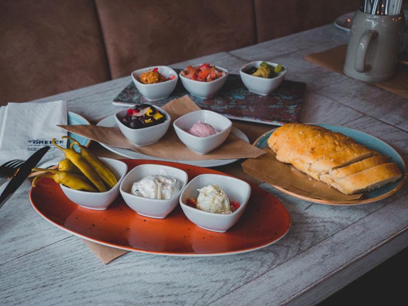 Die mediterrane Küche ist vielseitig und abwechslungsreich - wie unsere Vorspeisen
